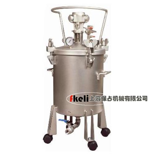 20L 自动搅拌不锈钢压力桶,下出料