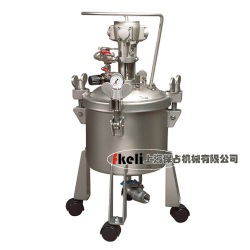 10L 自动搅拌不锈钢压力桶,下出料