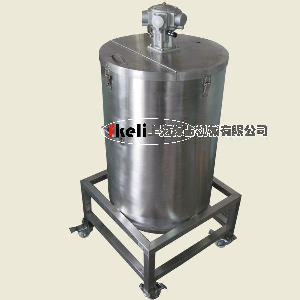 200升不锈钢气动搅拌机