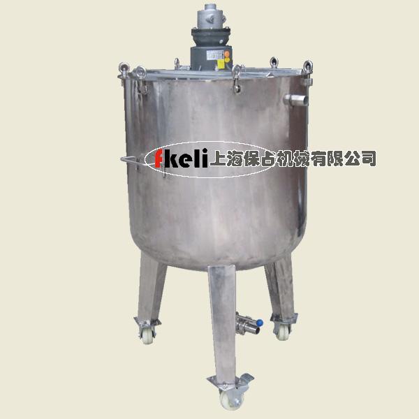 300升气动不锈钢气动搅拌机
