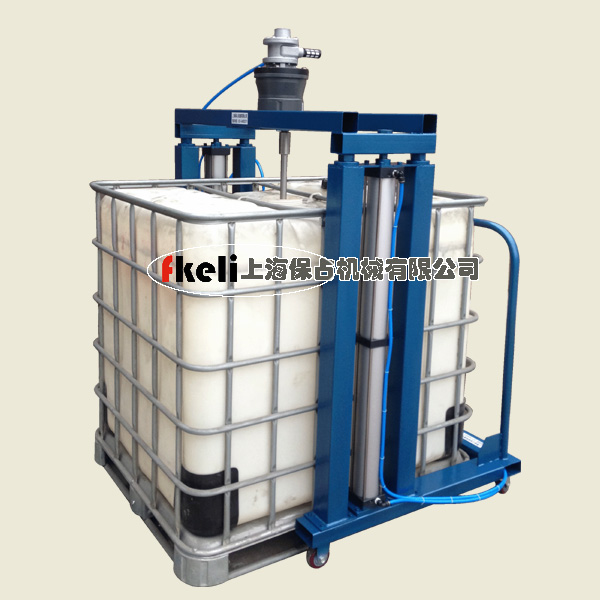 吨桶气动搅拌机,IBC桶用防爆搅拌机
